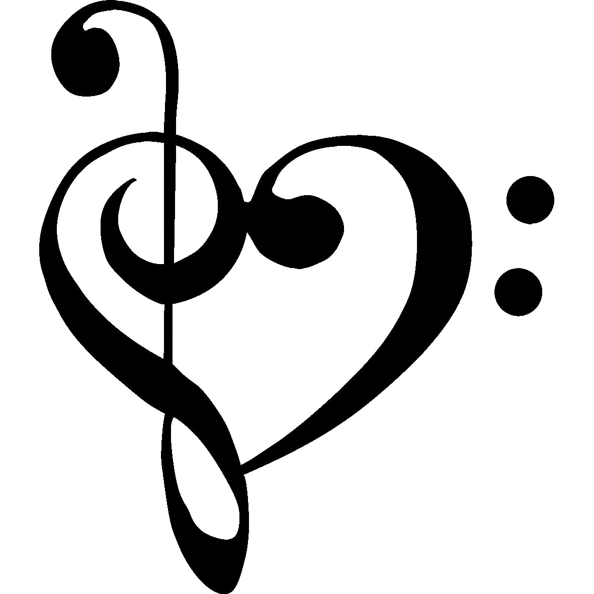 Fantastic Wallpaper Music Heart - music-notes-heart-wallpaper-CleftHeart  Graphic_846048.png